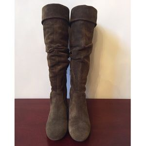 Banana Republic Suede Tall Boots